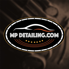 MP Detailing Logo Design