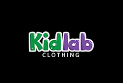 kids clothing logo template